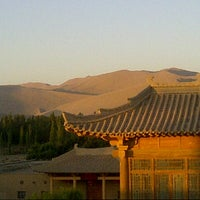 Photo taken at Silk Road Hotel Dunhuang by Jens T. on 8/2/2013