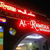 Photo taken at Al Rawsha Restaurant by Anis F. on 9/17/2012