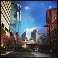 Photo taken at SW Corridor Park - Back Bay by Nicole H. on 2/1/2013