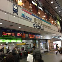 Photo taken at Kanayama Station by Arley on 11/18/2012
