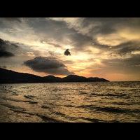 Photo taken at Batu Ferringhi Beach by Ali on 10/20/2012
