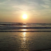 Photo taken at Kashid Beach by Chaitanya D. on 3/10/2013