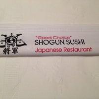 Photo taken at Shogun Sushi by Maryanne V. on 1/11/2015