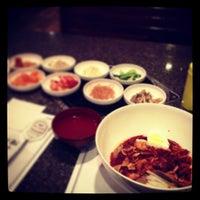 Photo taken at Cho Sun Gal Bi Korean BBQ & Sushi Bar by Juhee W. on 12/14/2012
