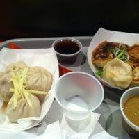 Photo taken at Dumpling Man by Michael on 12/31/2012