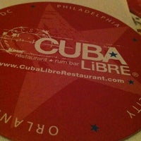 Photo taken at Cuba Libre Restaurant & Rum Bar by Cecilia on 11/10/2012