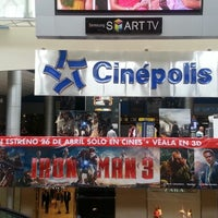 Photo taken at Cinépolis by Ilka P. on 4/26/2013