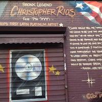 Photo taken at Big Pun Memorial Mural by Jorge on 6/9/2013