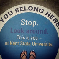 Photo taken at Kent State University by Kristina C. on 6/2/2013
