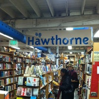 Photo taken at Powell's Books on Hawthorne by Clint B. on 12/28/2012