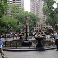 Photo taken at Madison Square Park by Elizabeth S. on 5/30/2013