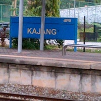 Photo taken at KTM Line - Kajang Station (KB06) by fiq 9. on 1/1/2013