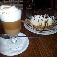 Photo taken at Chocol Arte café by Romina B. on 1/24/2013