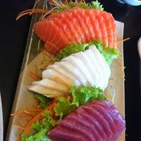 Photo taken at Oishii Sushi by Eliana L. on 12/9/2012