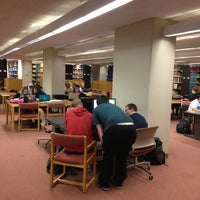 Photo taken at Parks Library by Karen on 10/1/2012