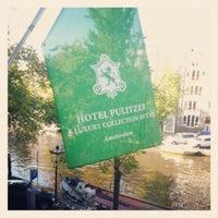 Photo taken at Hotel Pulitzer by Owen T. on 10/11/2012