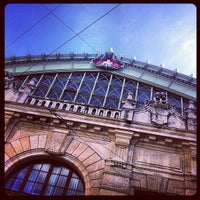 Photo taken at Basel SBB Railway Station by Daniel M. on 7/30/2013
