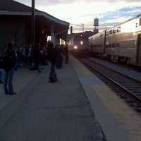 Photo taken at Metra - Western Avenue by Emily W. on 10/2/2012