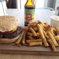 Photo taken at Butcher & The Burger by Su S. on 10/2/2012
