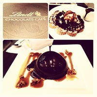 Photo taken at Lindt Chocolate Cafe by Dexter D. on 8/11/2013