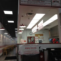 Photo taken at Five Guys by Bryan on 12/24/2012