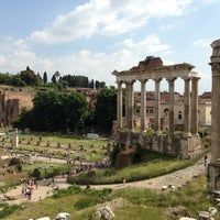 Photo taken at Foro Romano by Serg G. on 5/9/2013