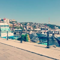 Photo taken at Sarıyer Sahili by Demet S. on 9/25/2012