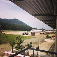 Photo taken at Redang Island Airport (RDN) by Abby A. on 7/13/2014