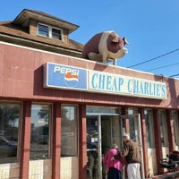 Photo taken at Cheap Charlie's by Matthew P. on 9/21/2015