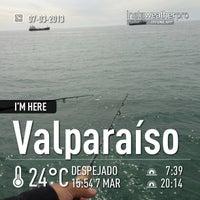 Photo taken at Caleta Portales by Marcelo B. on 3/7/2013