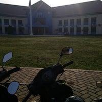 Photo taken at Sekolah Tinggi Transportasi Darat (STTD) by Meli S. on 11/3/2013
