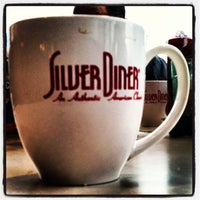Photo taken at Silver Diner by Richard B. on 1/25/2013