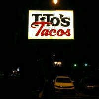 Photo taken at Tito's Tacos by Willie B. on 9/26/2012
