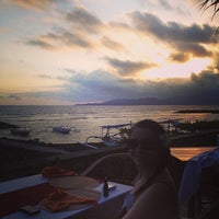 Photo taken at Le - Zat Beach restaurant by Andy S. on 10/6/2013