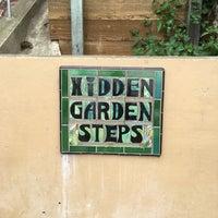 Photo taken at Hidden Garden Mosaic Steps by Len K. on 7/9/2016