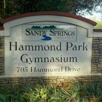 Photo taken at Hammond Park by L'Vaughn S. on 10/29/2011