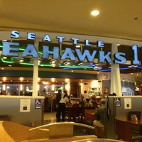 Photo taken at Seattle Seahawks 12 Club by Barb on 12/30/2012