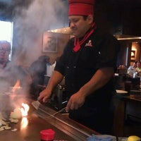 Photo taken at Wasabi Japanese Steakhouse & Sushi Bar by Stephanie R. on 10/26/2012