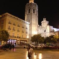 Photo taken at Plaça de la Reina by Verochka Malakhova on 6/8/2013