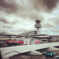 Photo taken at Murtala Muhammed International Airport (LOS) by Cody S. on 9/9/2013