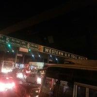 Photo taken at Western U.P. Toll Plaza by Sangam B. on 4/27/2013