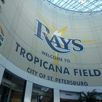 Photo taken at Tropicana Field by Rogbe S. on 9/25/2013