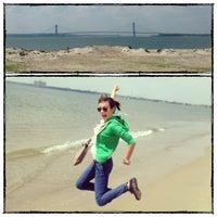 Photo taken at Sea Gate Beach by Elena D❄ on 5/31/2013