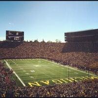 Photo taken at Michigan Stadium by Kevin K. on 9/16/2012