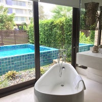 Photo taken at The Rock Hua Hin Boutique Beach Resort and Spa by PokotuzArtT on 8/28/2016