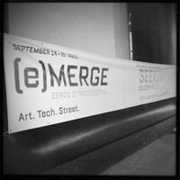 Photo taken at ZERO1 Garage HQ by John L. on 9/15/2012