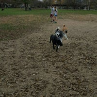 Photo taken at Broad Ripple Park Canine Companion Area by Cheryl M. on 11/5/2015