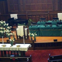 Photo taken at Pilgrim Congregational Church by Zack C. on 3/31/2013