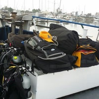Photo taken at Spectre Dive Boat by Lyle R. on 7/5/2014