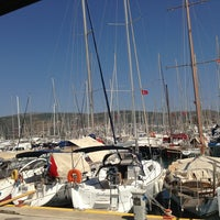 Photo taken at Milta Bodrum Marina by Ergün . on 7/27/2013